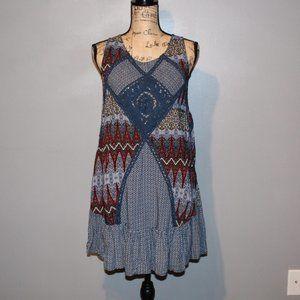 Umgee Multicolored Boho Dress/Tunic